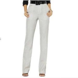 Lauren Ralph Lauren Palm Beach Lined Linen Pants